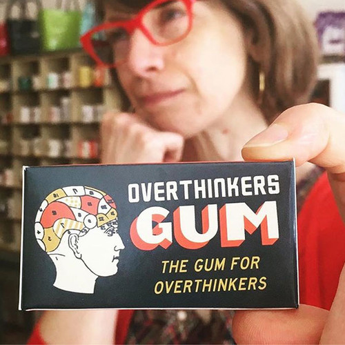 Overthinkers Gum. The Gum For Overthinkers