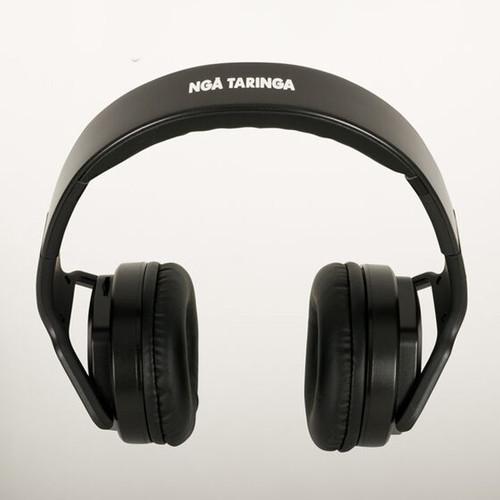 Black Nga Taringa Wireless Headphones