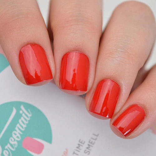 Personail Nail Polish Strips: Brilliant Red