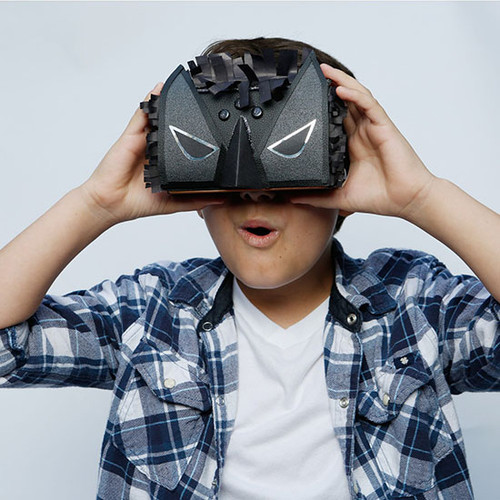DIY Virtual Reality Viewer: The Dark Side