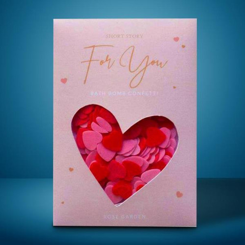 For You Bath Confetti Card