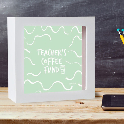 Teacher's Coffee Fund Mini Change Box
