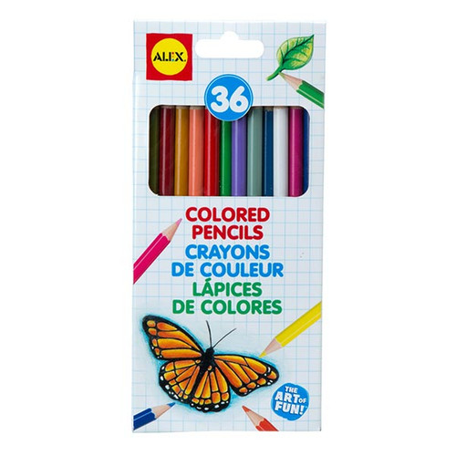 Alex Coloured Pencils - 36pc