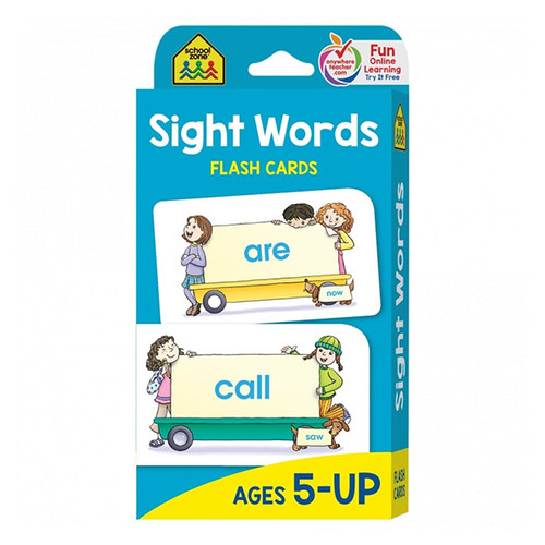 School Zone Flash Cards: Sight Words