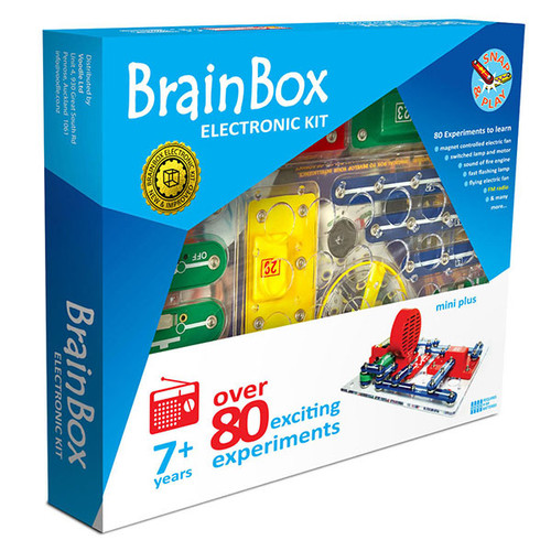 Brain Box: Mini Plus Electronic Kit with FM Radio