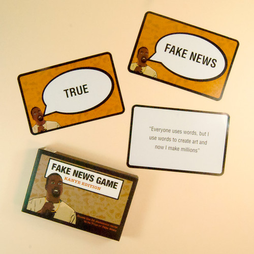 Fake News Game - Kanye Edition
