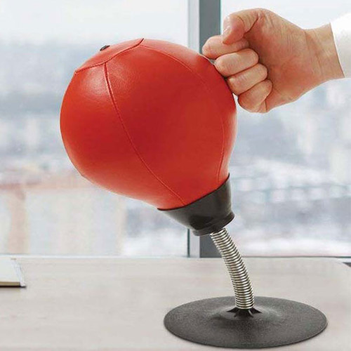 Suckerpunch Desktop Punching Bag