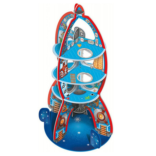 Up to Space 3D Pop Up Rocket