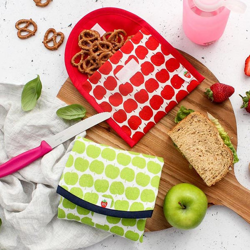 Organic Litterless Snack Bags or Lunch Wraps