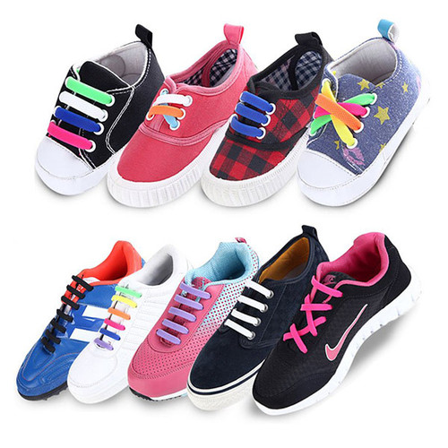 Easy Lace Kids Silicone Shoelaces