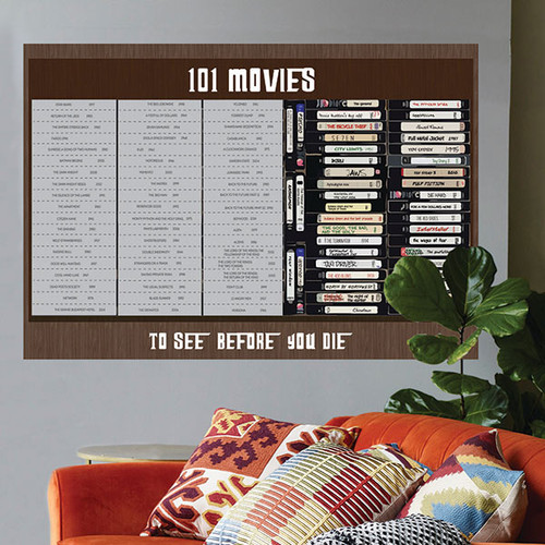101 Movies to See Before You Die Poster