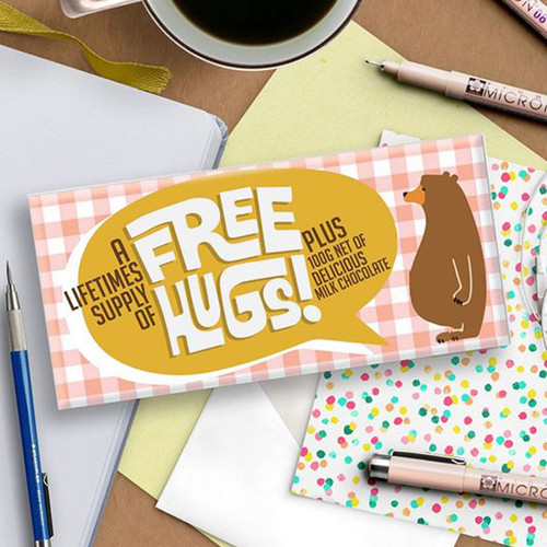 A Lifetime Supply of Free Hugs Chocolate Bar