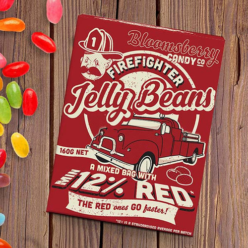 Firefighter Jelly Beans