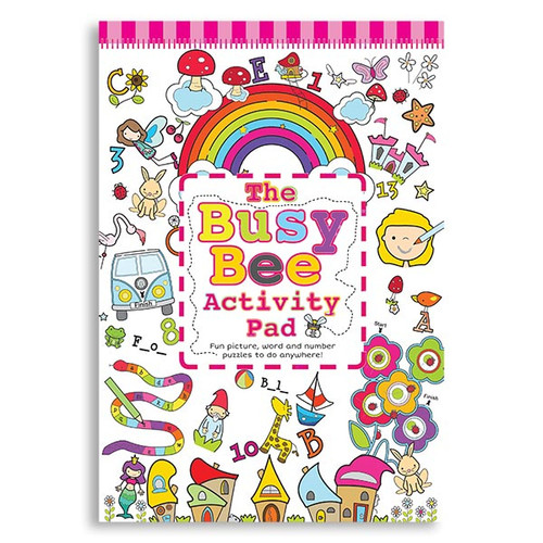 Busy Bee Activity Pad: Girl