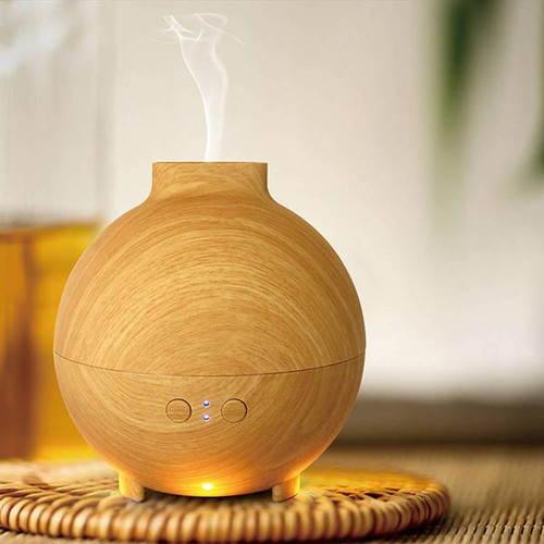AR1 Light Wood Aromatherapy LED Diffuser