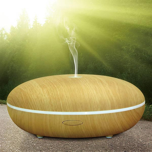 AR6 Light Wood Aromatherapy LED Diffuser
