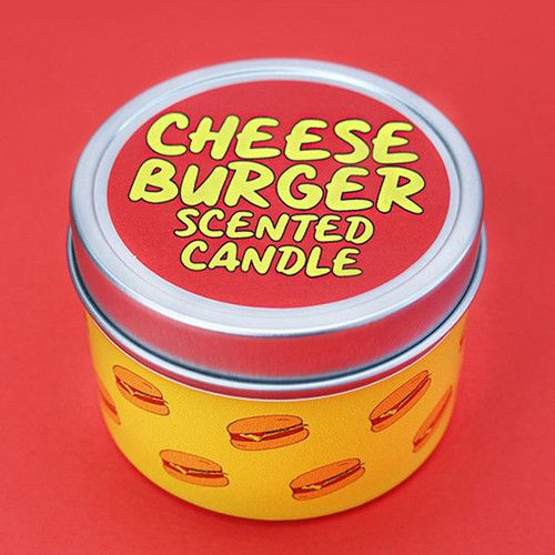 Cheeseburger Scented Candle