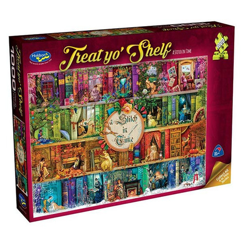 1000pc Jigsaw: Treat yo' Shelf, A Stitch in Time