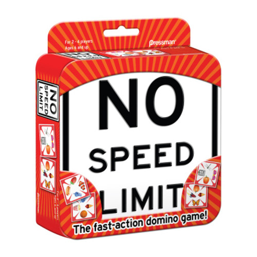 No Speed Limit In Display Tin