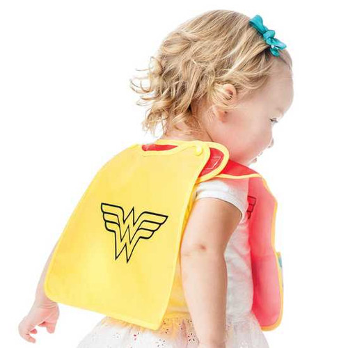 Wonder Woman SuperBib with Cape
