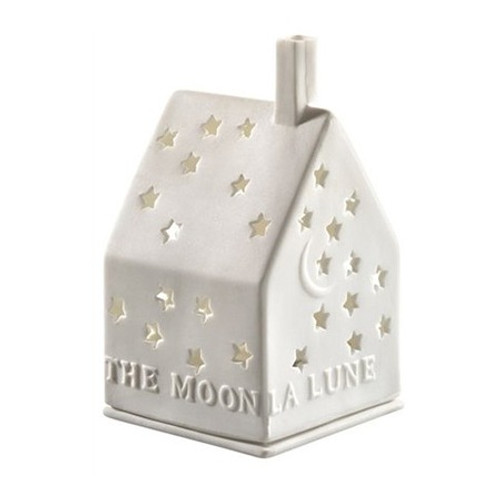 The Moon Porcelain Tealight House