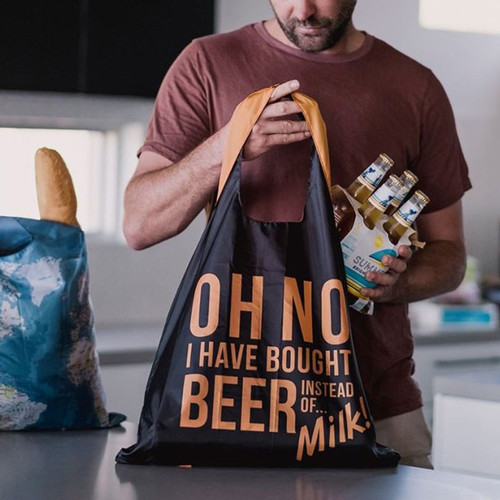 Beer Shopping Tote