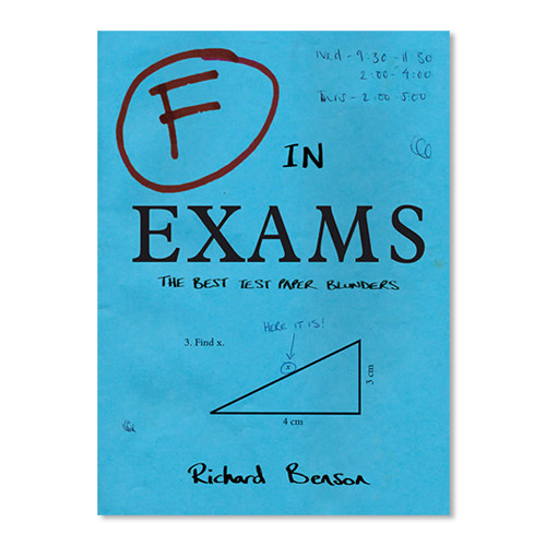 F in Exams - The Best Test Paper Blunders