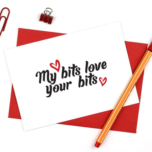My Bits Love your Bits Card
