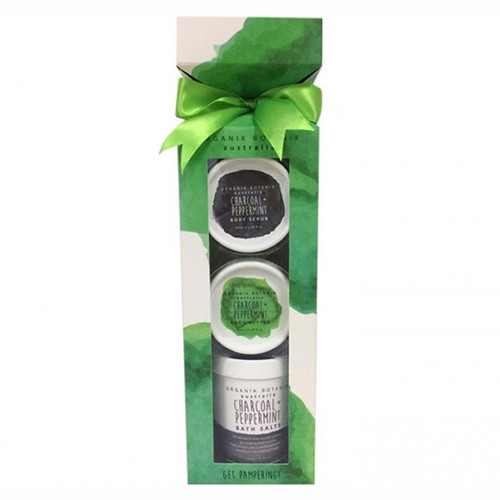 Charcoal & Peppermint Splotch Standing Cracker Set