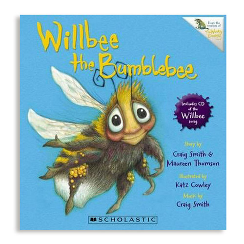 Willbee the Bumblebee (Book + CD)