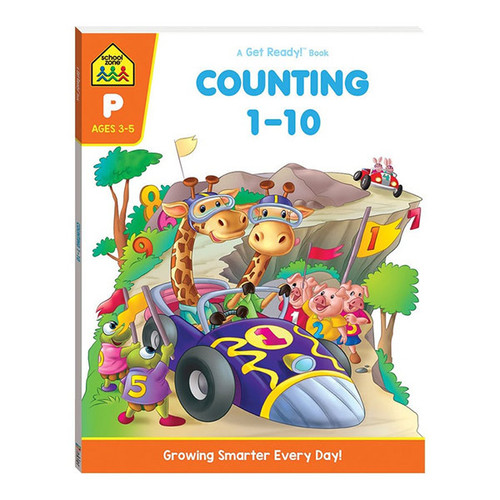School Zone Get Ready! Counting 1-10