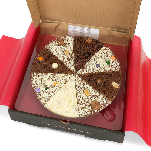 Delicious Dilemma 7 inch Chocolate Pizza