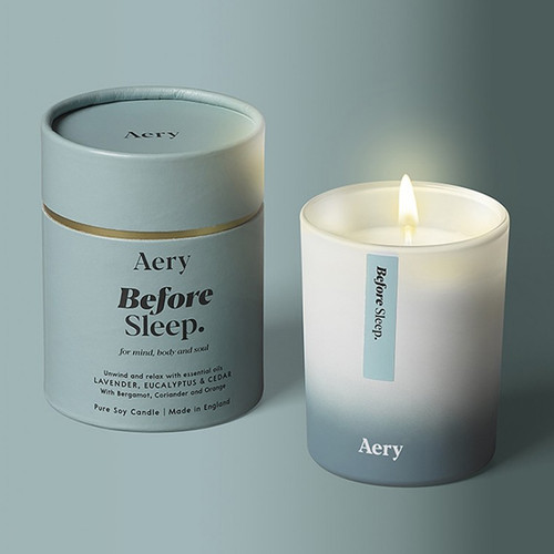 Aromatherapy Soy Candle: Before Sleep