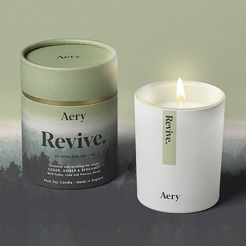 Mindful Soy Candle: Revive