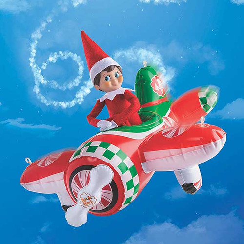 Elf on the Shelf Peppermint Plane Ride