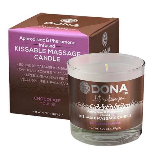 Chocolate Mousse Kissable Massage Candle