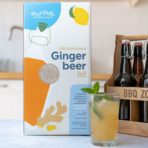 Old-Fashioned Ginger Beer Kit