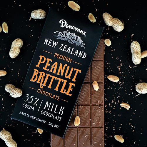 Donovan's Peanut Brittle Chocolate Bar