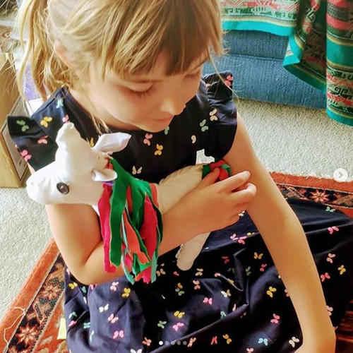 Unicorn DIY Upcycled Sewing Kit