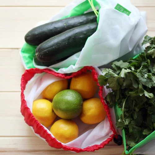 Eco Mesh Produce Bags - set of 4