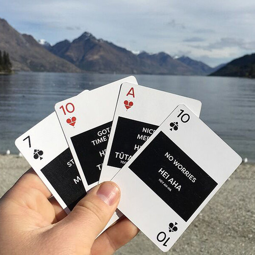 Te Reo Lingo Playing Cards