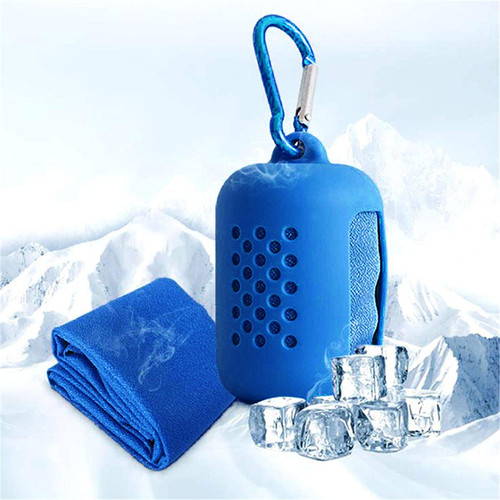 Cooling Towel in Silicone Bag