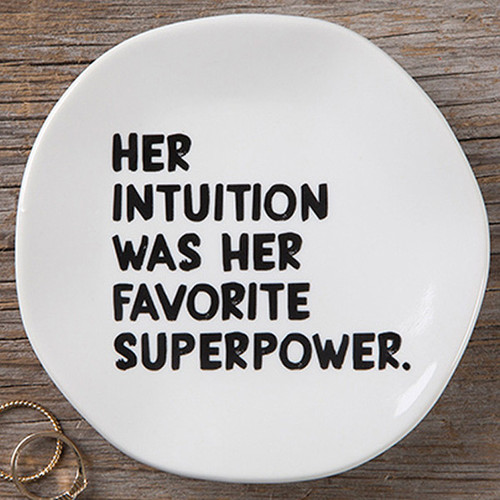 Intuition Mantra Plate