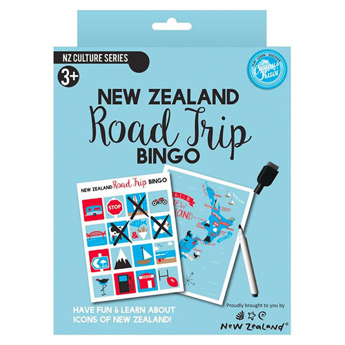 NZ Road Trip Bingo Game