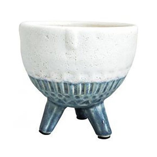 Blue Face Planter on Legs - Small