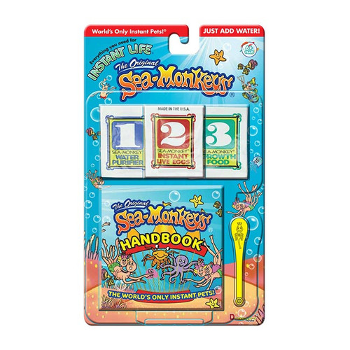 Sea Monkeys - Instant Life Starter Pack NZ