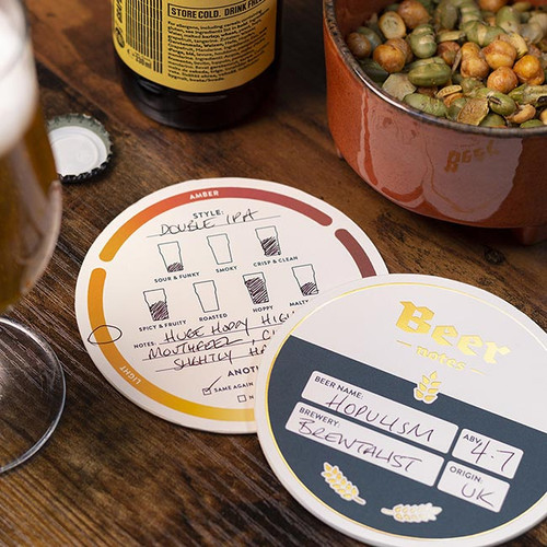 Beer Mat Tasting Notes NZ