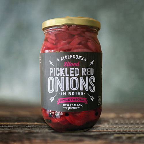 Alderson's Pickled Red Onions NZ