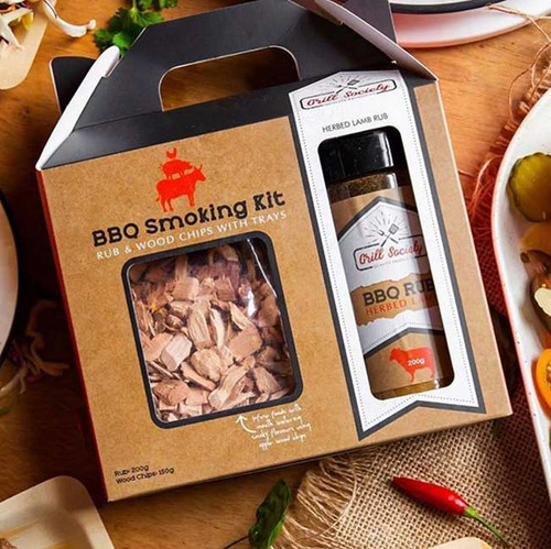 Grill Society BBQ Smoking Kit - Herbed Lamb NZ