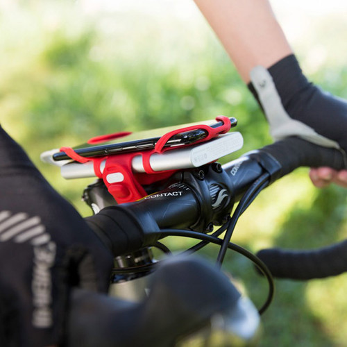 Bike Tie PRO - 2 in 1 Bike Phone Mount Phone/Charger Holder NZ